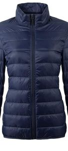 Women's Lightweight Packable Down Jacket Blue